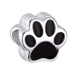 Cherished memories pet lover charm-paw print